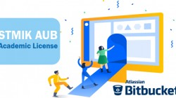 Professional Software Development: STMIK AUB kantongi Academic Licensi Bitbucket