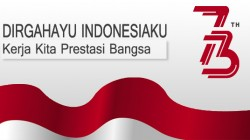 Upacara Bendera Peringatan HUT ke-73 Republik Indonesia
