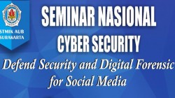 Seminar Nasional Cyber Security Defend Security and Digital Forensic for Social Media